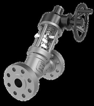 xanik | pressure seal y-pattern globe valve