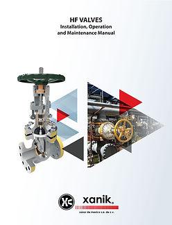 hf valves installation operation and maintanance manual | xanik