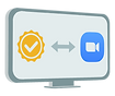 Zoom integration icon by Gutenberg Certs