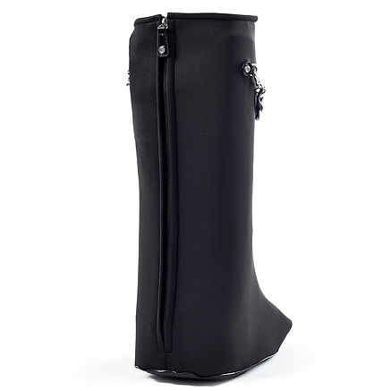 Cast Style Boot Cover Zippered Back