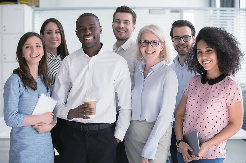 A business team of HR specialists from Odyssey Partners