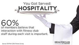 You Got Served: Hospitality in the Fitness Industry