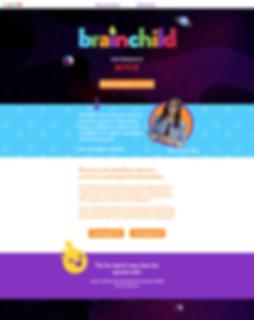 Brainchild Website Homepage