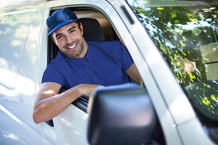 Restaurant Delivery Driver from Running Chef in a Van