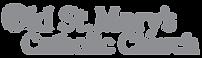 Old St Mary Logo