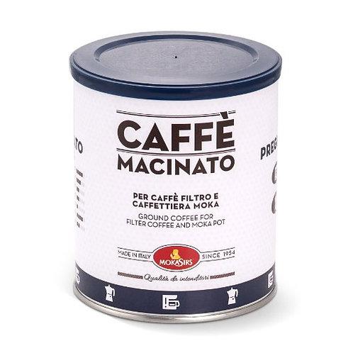 Pregiato Ground Espresso Coffee - 250g tin