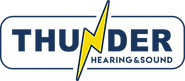 Thunder Hearing & Sound Logo