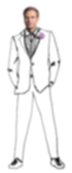 Groom Photo Illustration