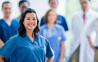 A GlobalCares certified nursing assistant