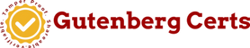 Gutenbert Certs Crypto Reward Program Logo
