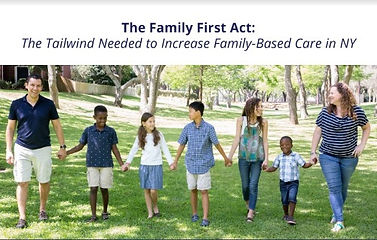 RHF Brief Report Cover for Family First Brief
