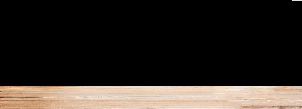 Wooden baking counter