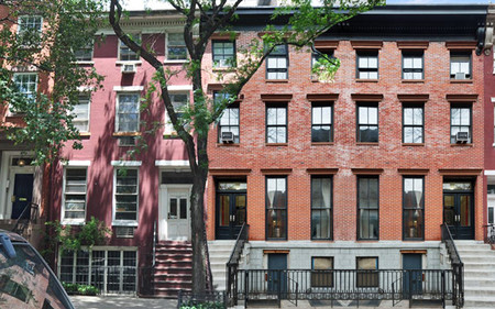 Three Greenwich Village townhouses marketed as one potential megamansion