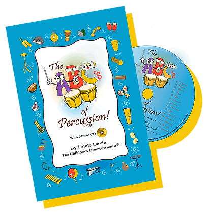 The ABC's of Percussion book and cd