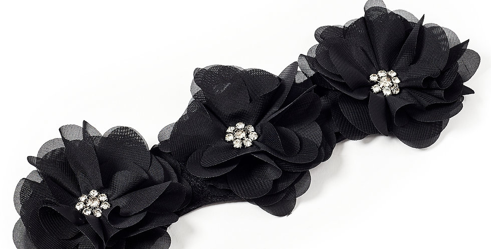 Chiffon Flower Accessory for Boot Cover