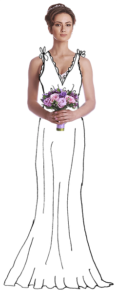 Bride photo illustration
