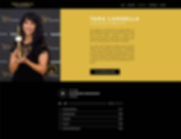 Tara Langell Voiceover Artist Audiobook Webdesign