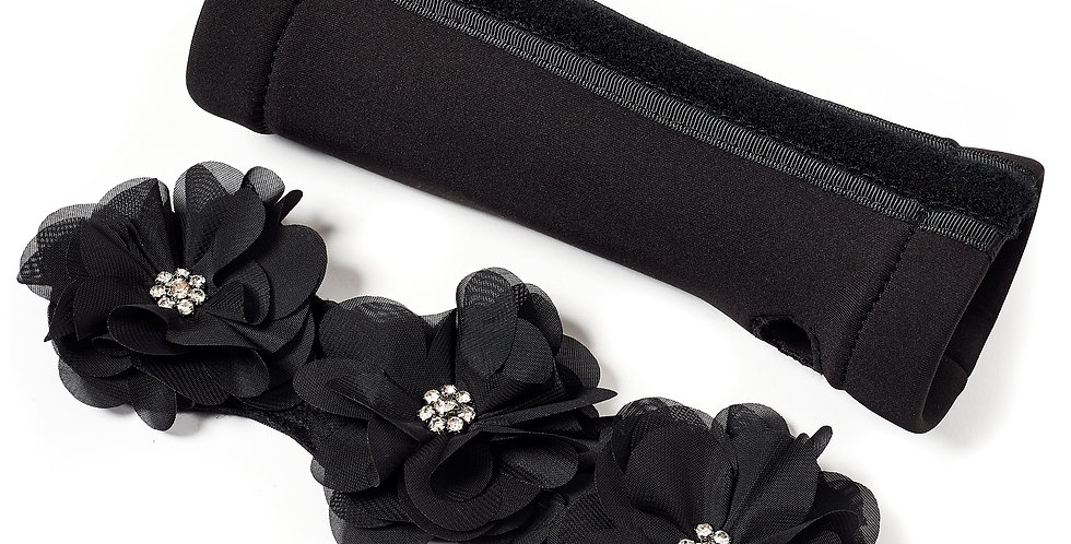 Chiffon Flower Accessory for Arm Covers