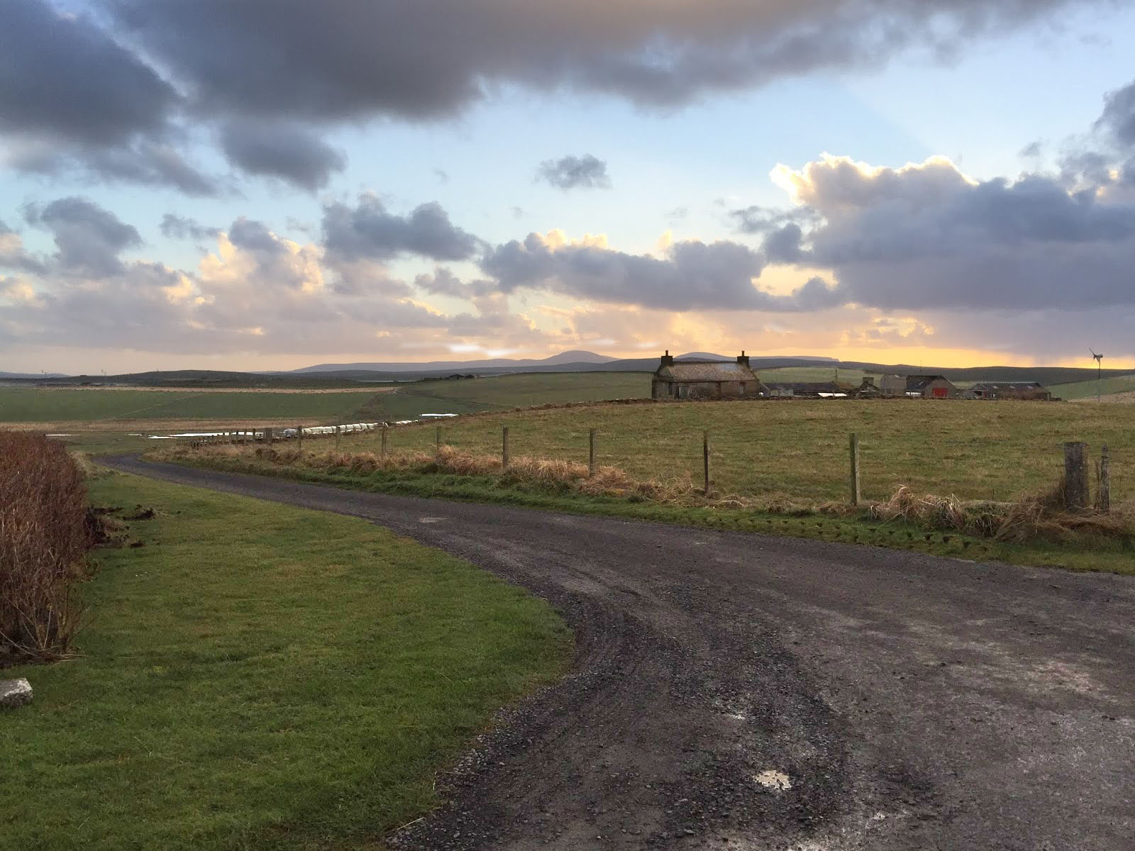 The beautiful Orkney countryside!