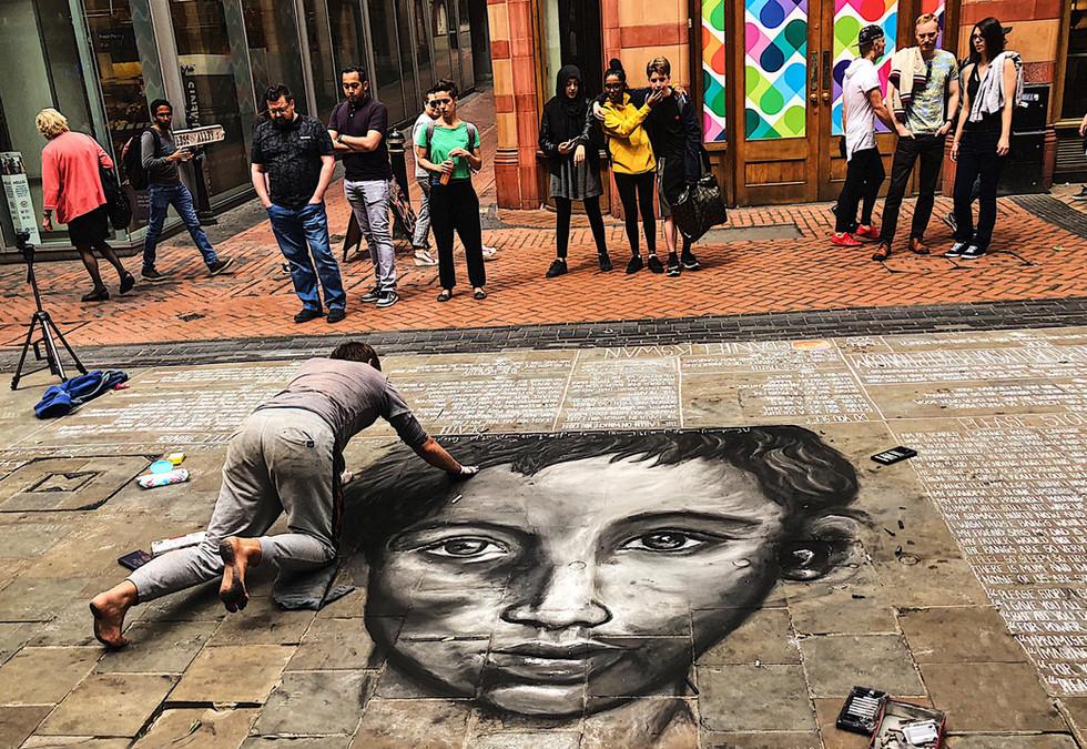 Anti War Street Art by Daniel K Swan