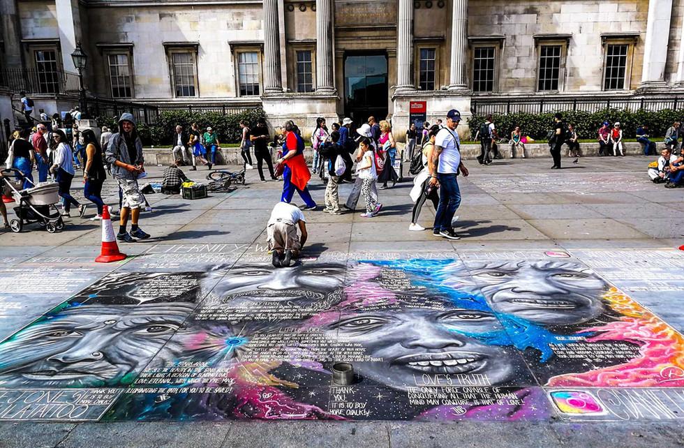 London Street Art By Daniel K Swan