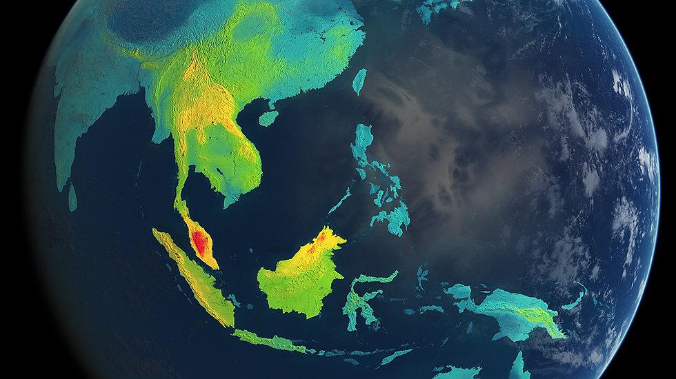 Indonesia Rainforest Density of Biodiver