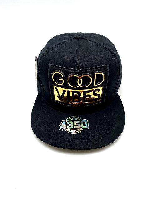 GOOD VIBE SNAP BLACK HAT