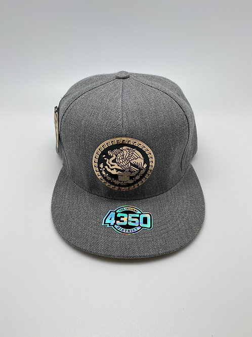 MEXICO GOLD METAL EMBLEM HAT