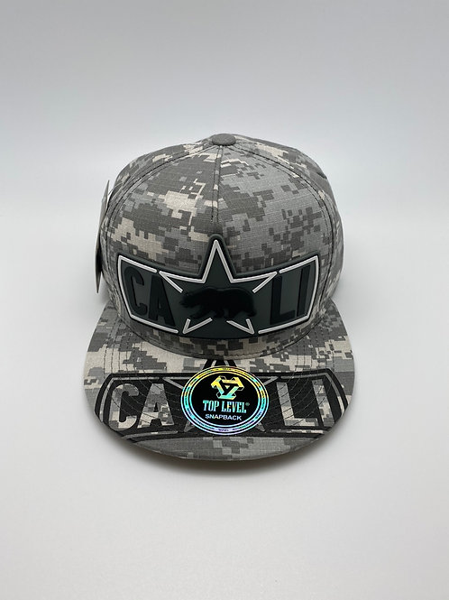 DIGITAL CAMOUFLAGE CALIFORNIA HAT