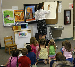 Heidi Woodward Sheffield, school visits