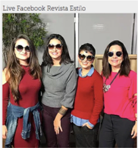 Live Facebook Revista Estilo