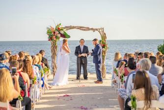 Ceremony & Reception at Fisher Inn, Islamorada Florida