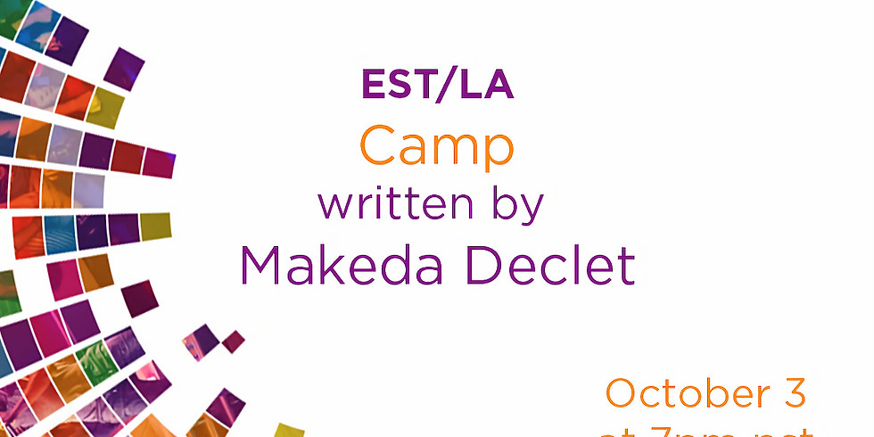 """""""Camp"""" by Makeda Declet in the Together LA Festitval"""