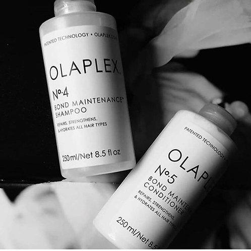 Olaplex no.4 and no.5