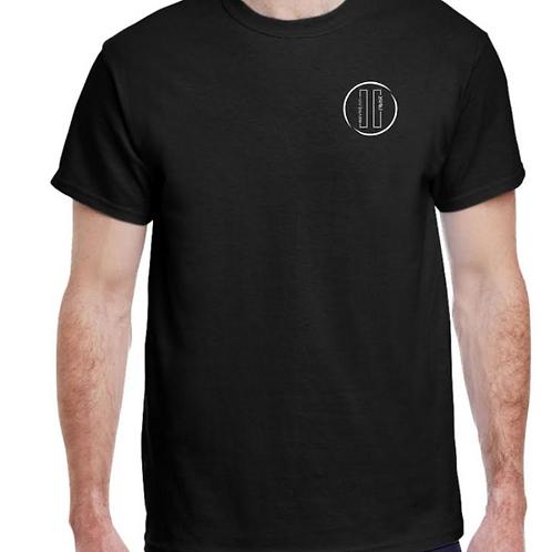 Black T-shirt Pause design