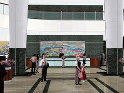 St. Lukes Hospital Lobby
