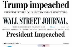 AstroFlash: Two Trump Impeachment Charts