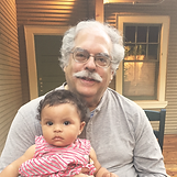 Mark Lerner and his Granddaughter