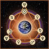 Mark Lerner Astrology Logo 7 pointed star