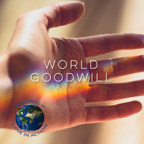 Cosmic Chat - World Goodwill
