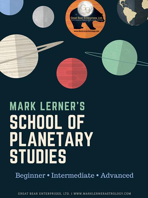School Of Planetary Studies