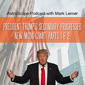 Donald Trump's seconary progressed new moon