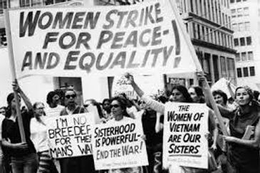 women march for peace