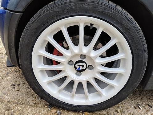MG Straights (60mm OD) Wheel Caps