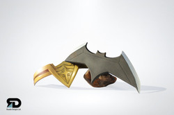 Wonder Womens Headband & Batarang