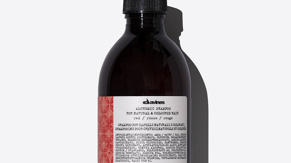 ALCHEMIC Shampoo RED