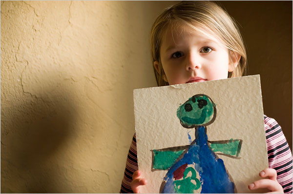 Children's Art: Keep or Toss?