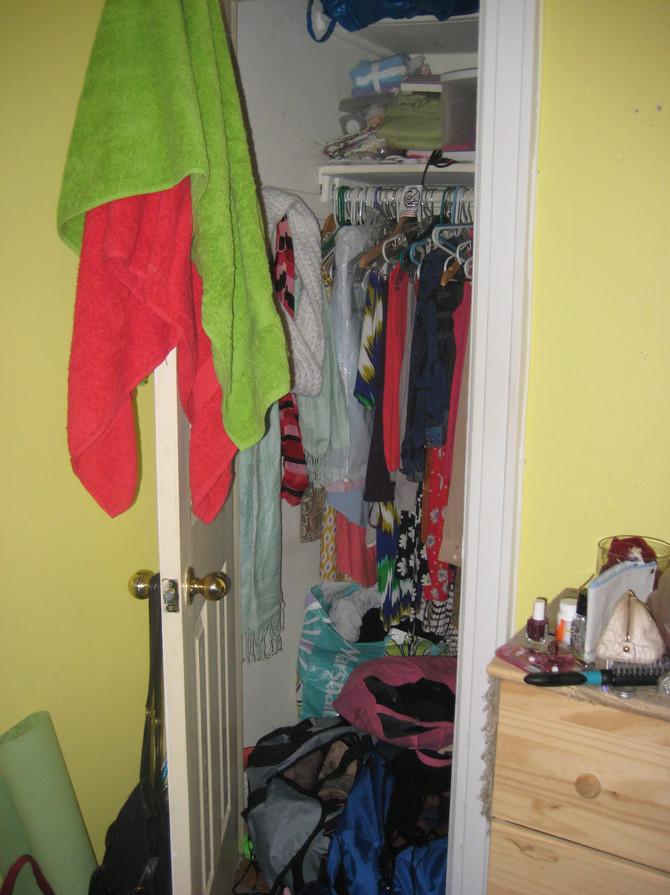 Jill Reclaimed Her Closet!