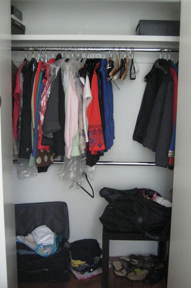 THREE Closets Reclaimed!
