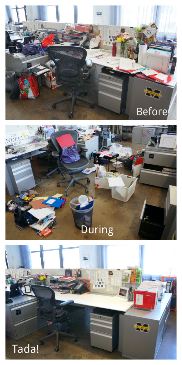 Office Before and After!